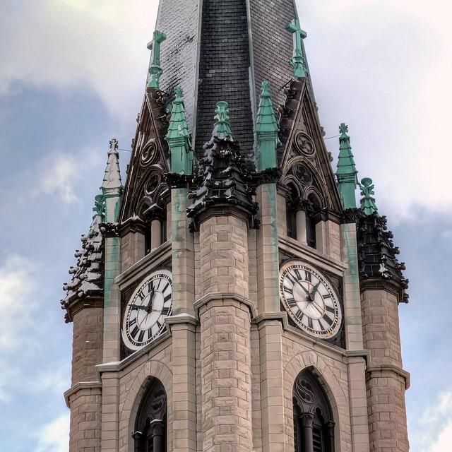 Gesu Church Steeple