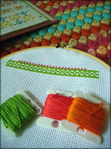 Sampling the Cross-Stitch 10