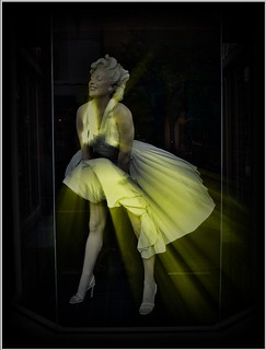 Marilyn Monroe ~  2005 ~ Found In a Display Window Spokane WA~