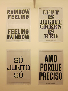 Mesa&Cadeira com Anthony Burrill