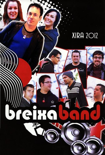 Breixa Band 2012 - orquestra - cartel