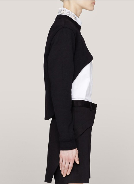 Givenchy cutout cropped sweater