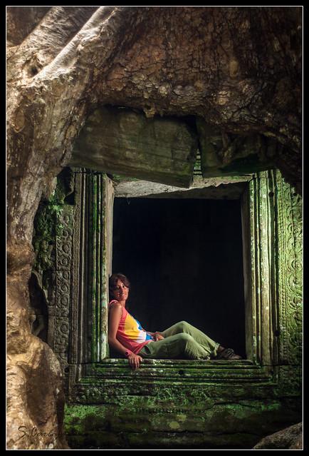 La princesa de Angkor Wat