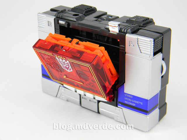 Transformers Soundblaster - G1 Encore - modo alterno