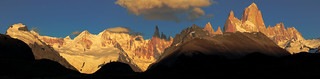Mont FitzRoy and Cerro Torre Panorama