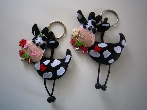 ♥♥♥  Para um casal apaixonado... by sweetfelt \ ideias em feltro