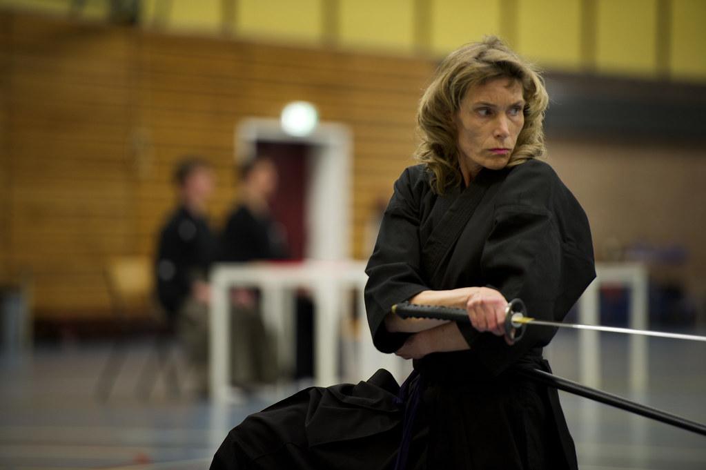 Campeonato Nacional de Países Bajos 2012. Señora holandesa ejecutando Tsuka Ate