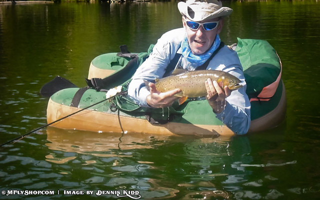 Float tube fly fishing the yellowstone cutthroat trout for Fly fishing float tube