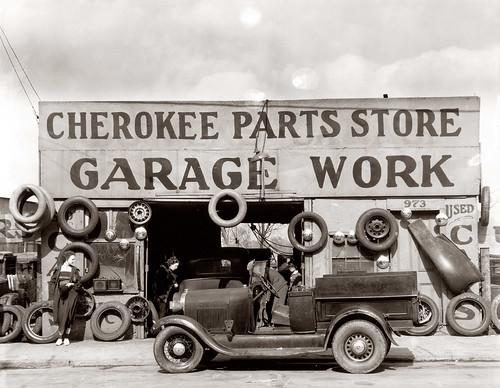 Cherokee Parts, 1936 by John McNab