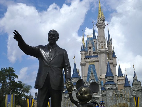 Walt, Mickey and the Castle