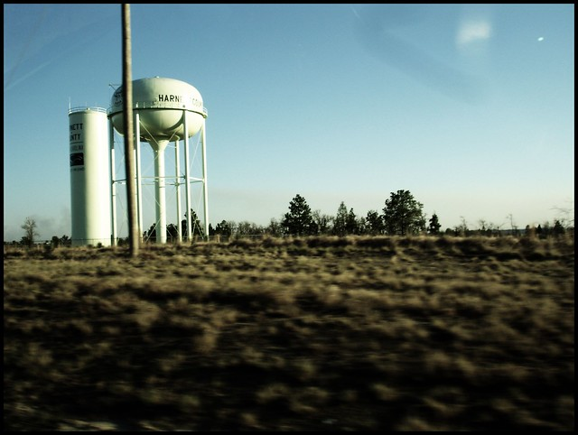 old harnett county water tower