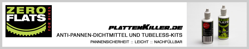 Zero Flats PlattenKiller von Revolution Sports