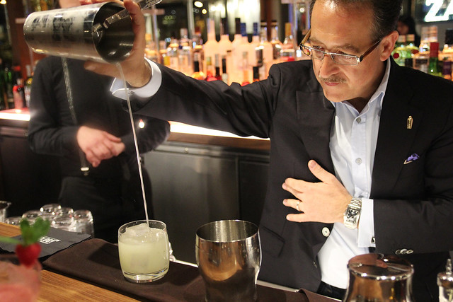 Salvatore Calabrese at Mixology 101 by Caroline on Crack