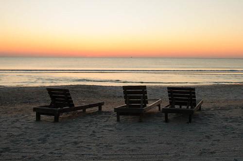 ocean travel sky beach sunrise florida jacksonville pontevedra 2012 d300 meridiumconference