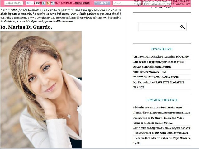 The Travel Passion: An article about my book on Style it!