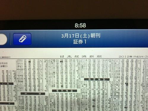 Nikkei on iPad