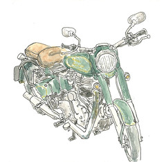 Royal Enfield by shiembcn