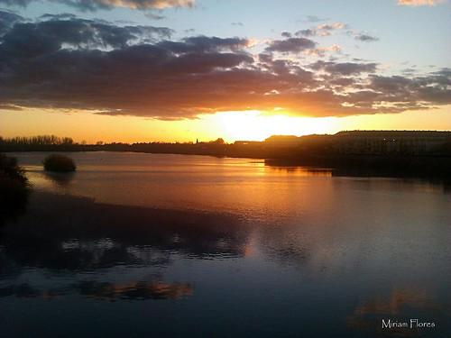 Anochecer en Talavera