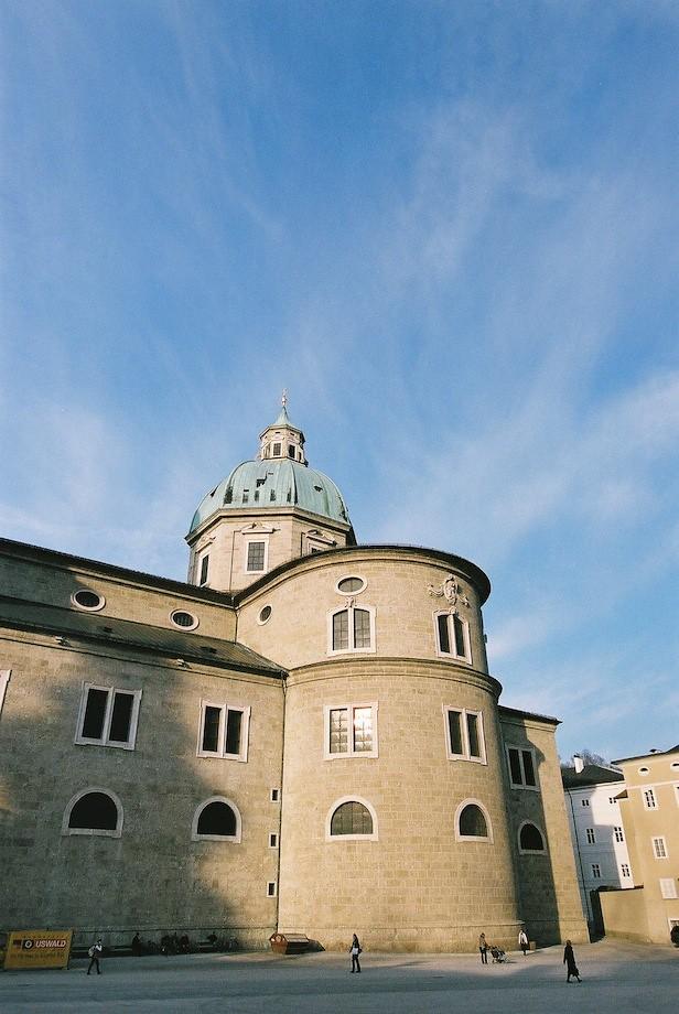 薩爾茲堡大教堂一隅
