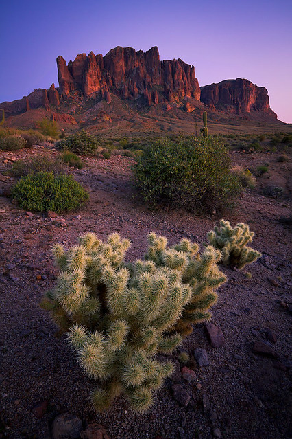 Superstition Mountain Twilight