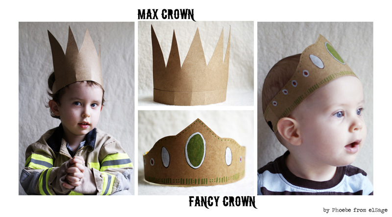 How to make a kings crown with cardboard