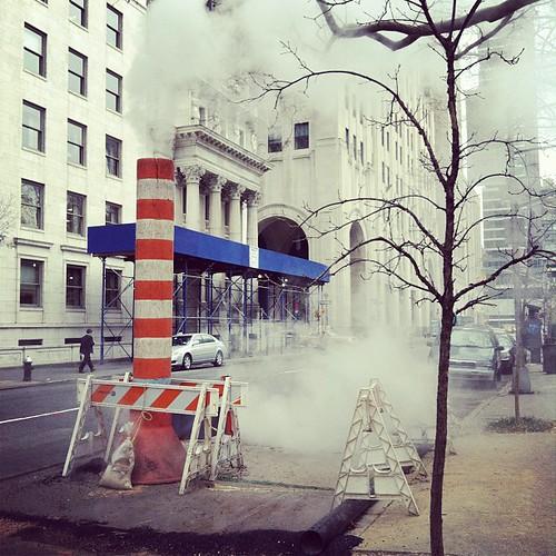 Steamy.