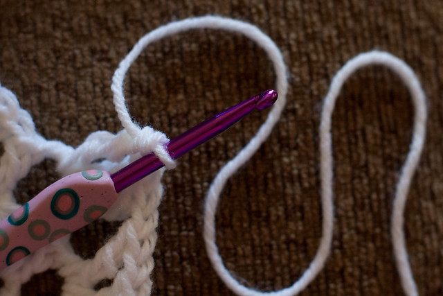 Polymer Clay-Handled Crochet Hook