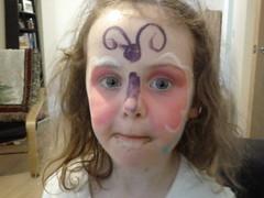 Lydia facepaint 2