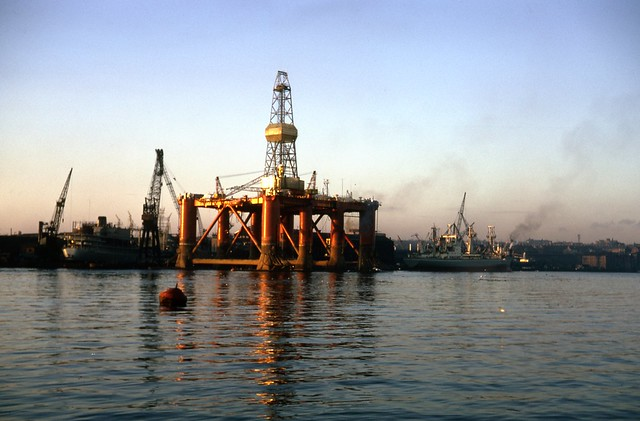 An Oil Rig on the South Side