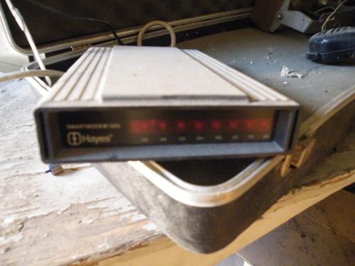 High tech modem