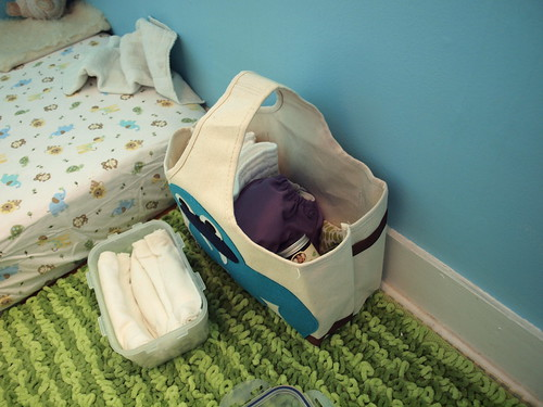Our diapering kit