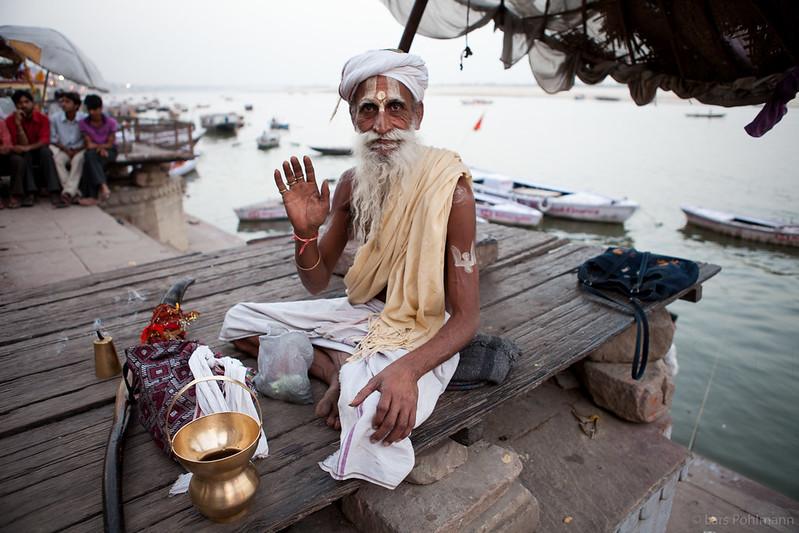 Sadhu in Varanasi