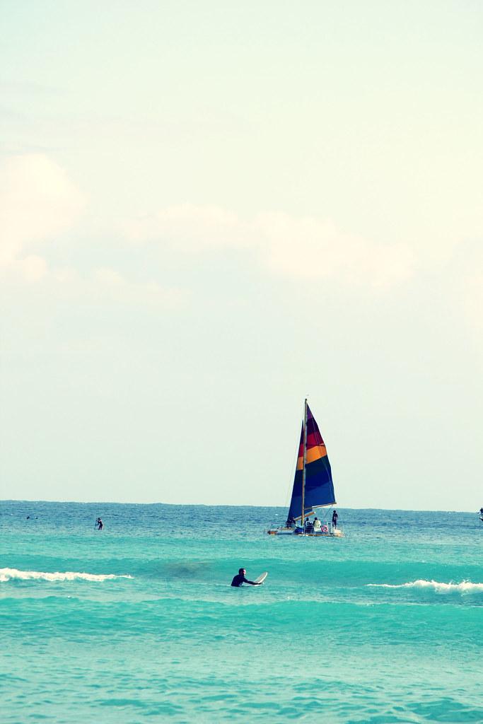 rainbow sail