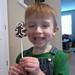 gingerbread boy pops