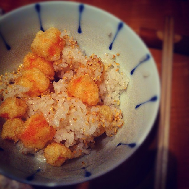 Scattered Tempura Rice