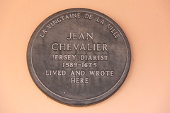 Photo of Jean Chevalier grey plaque