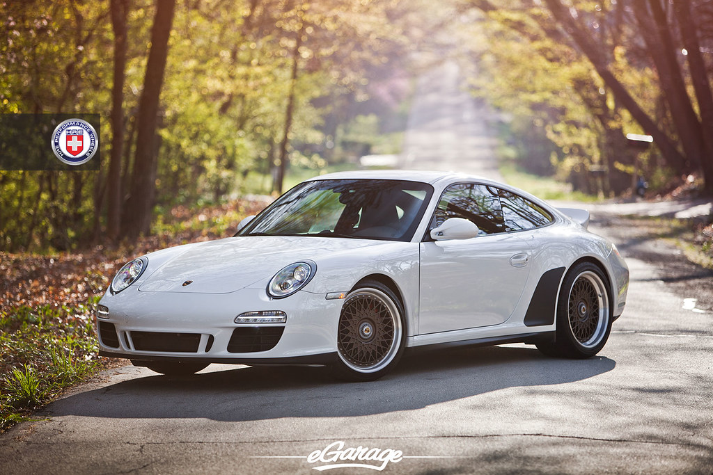 vintage hre 501 on porsche 997 gts. Black Bedroom Furniture Sets. Home Design Ideas