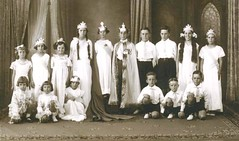 Gawler Primary School 1935. King and Queen Competition. Gordon Jacob  6th from left standing.