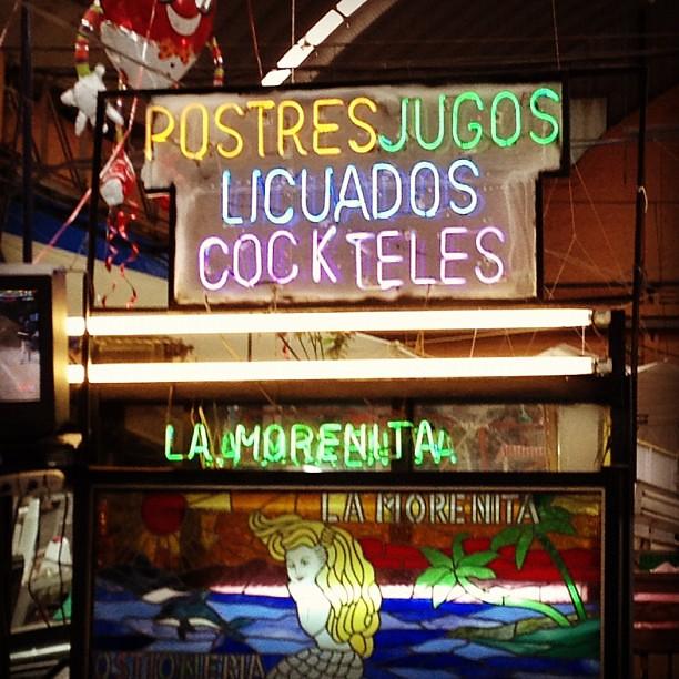 Inside Mercado Medellín, #méxicodf