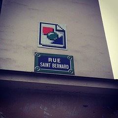 #Paris #streetart #urbanart #popart #pixelart #8bit #art