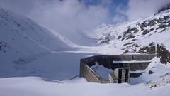 Zapora na jeziorze Oberaarsee