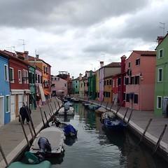 Adorable island of Burano. #travelgram