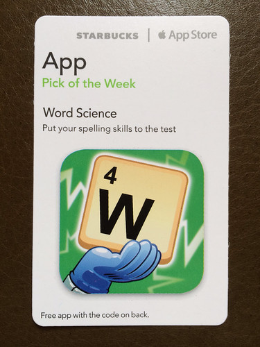 Starbucks iTunes Pick of the Week - Word Science