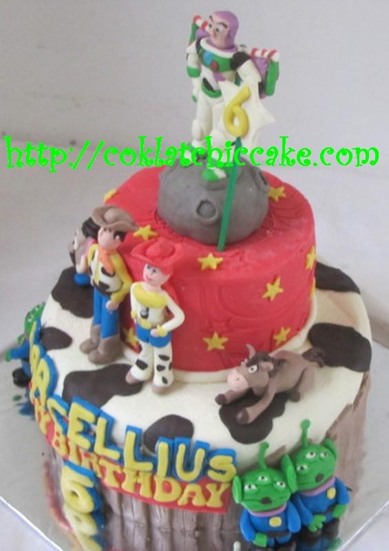 Kue ulang tahun toy story