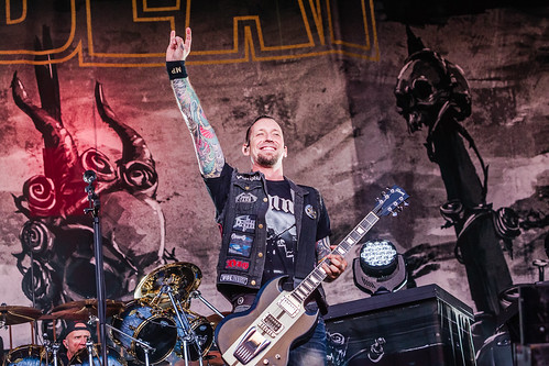 Mashup foto 2016 Fortarock - Volbeat-6440 Fortarock 2016 op