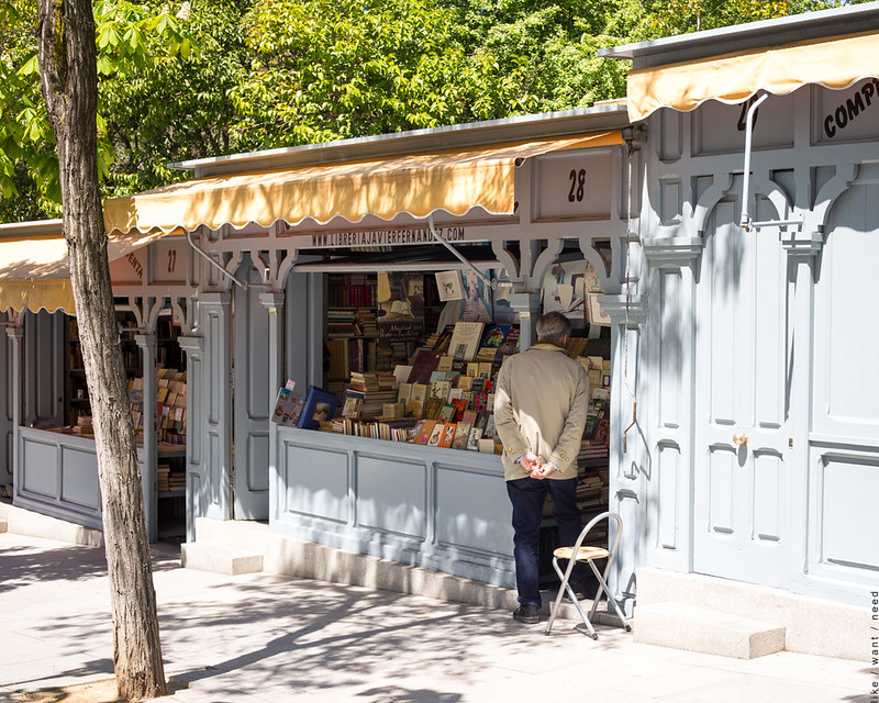 Booksellers, Calle Claudio Moyano
