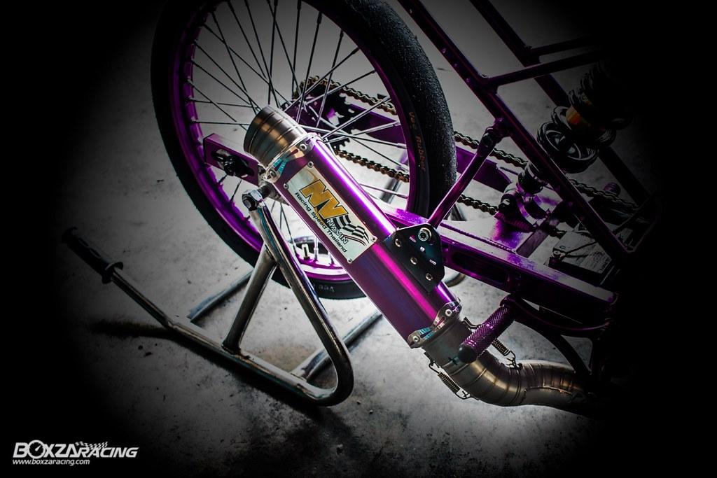 Wave Drag độ màu tím khủng khiếp với Piston 78mm (Thái) - 1