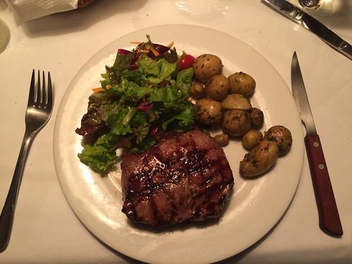 San José: steak saignant pour Mister J
