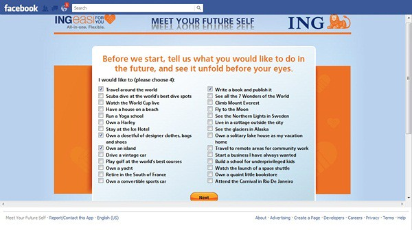 (1) Meet Your Future Self on Facebook