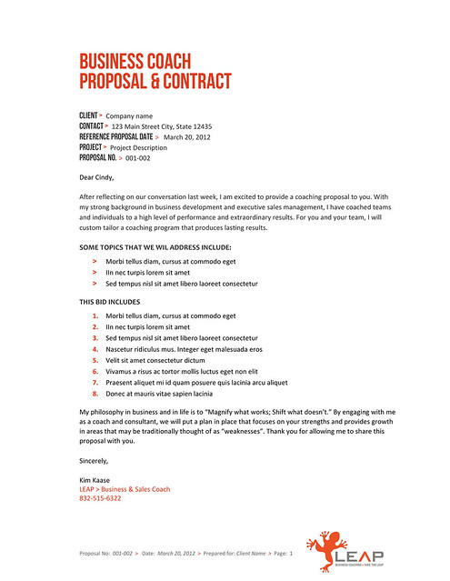 proposal template flickr photo sharing